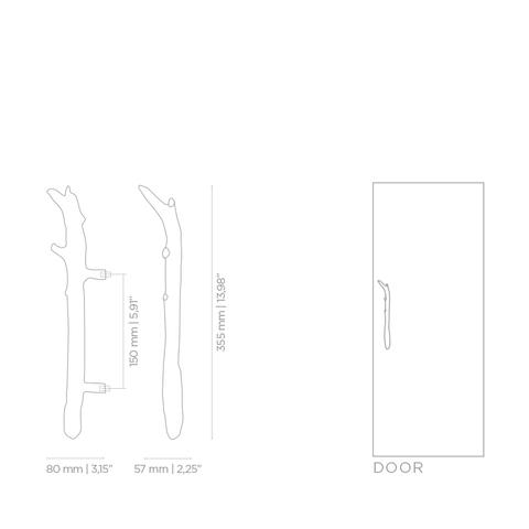 Дверная ручка PullCast TWIG EA1044