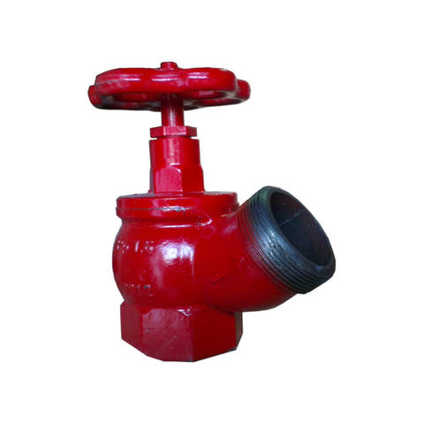 Клапан КПК-50-2 муфта/цапка латунь угловой 125