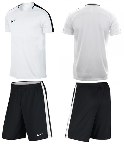 Форма футбольная Nike Dry Academy Football. Цвет белый