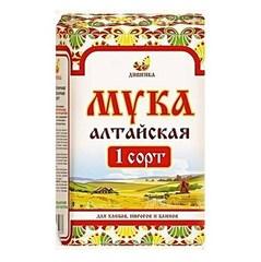Мука пшеничная хлебопекарная, Дивинка, Алтайская, 1 сорт, 2 кг.