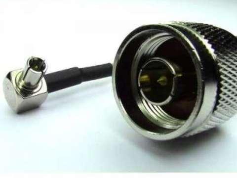 Антенный адаптер (пигтейл) N-tipe male/TS9