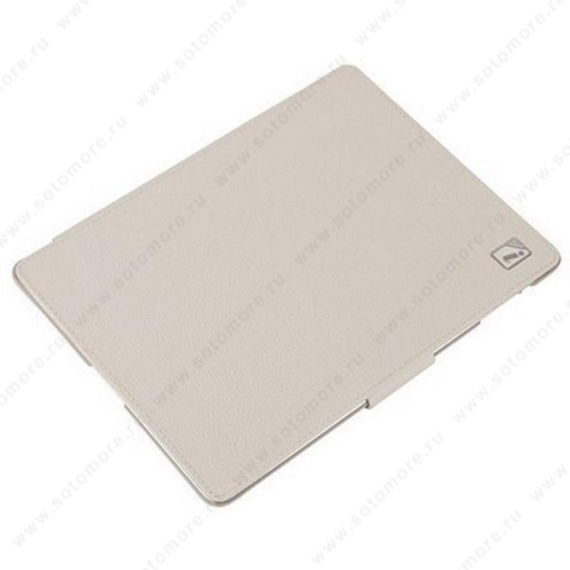 Чехол-книжка iCarer для Apple iPad 4/ 3/ 2 Distinguished Leather Series белый