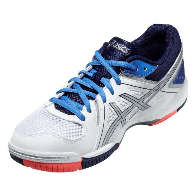 Женские кроссовки для волейбола Асикс Gel-Task (B555Y 0147) синие фото