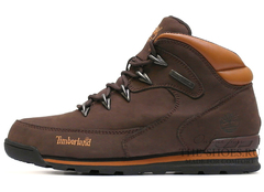 Мужские Ботинки Timberland Euro Sprint Waterproof Dark Brown Classic