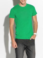 K505-22 футболка мужская, зеленая