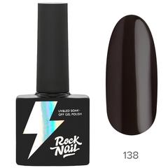 Гель-лак RockNail Basic 138 Chatty Chestnut, 10мл.