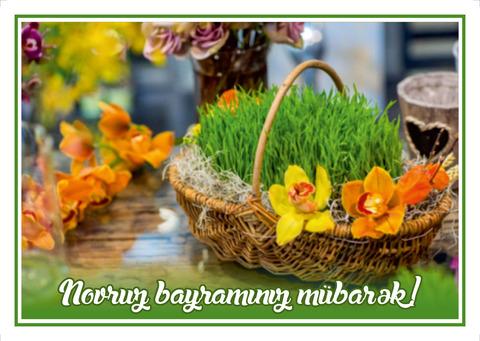 Açıqca (Открытки) Novruz