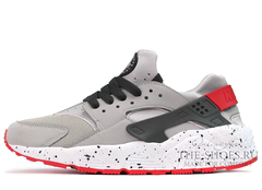 Кроссовки Мужские Nike Air Huarache Supreme Grey Red