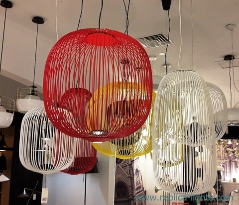 replica FOSCARINI SPOKES pendant ( red )
