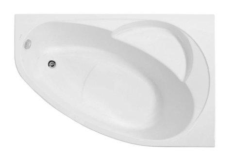 Акриловая ванна VAGNERPLAST FLORA 150 Right
