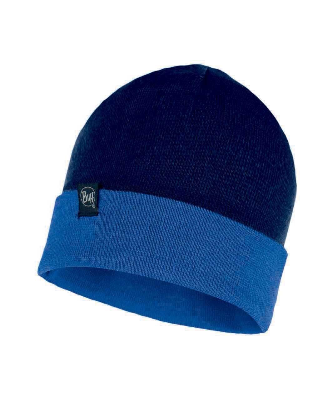 Вязаная шапка Buff Hat Knitted Dub Dark Denim