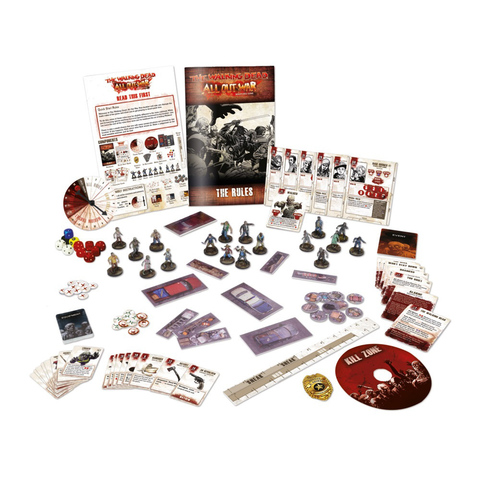 The Walking Dead Miniatures Game: All Out War Core Game