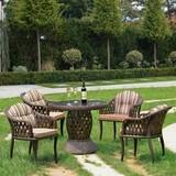 Комплект плетеной мебели RT-A92 Brown  4Pcs