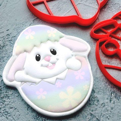 Пасхальный кролик в яйце №3