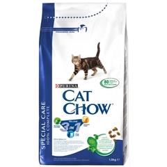 Cat Chow 3 in 1 для взрослых кошек с формулой тройного действия, птица и индейка