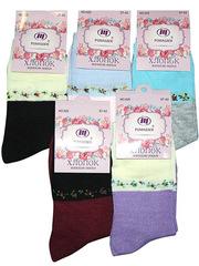 A25 носки женские 37-42 (12 шт.)  цветные