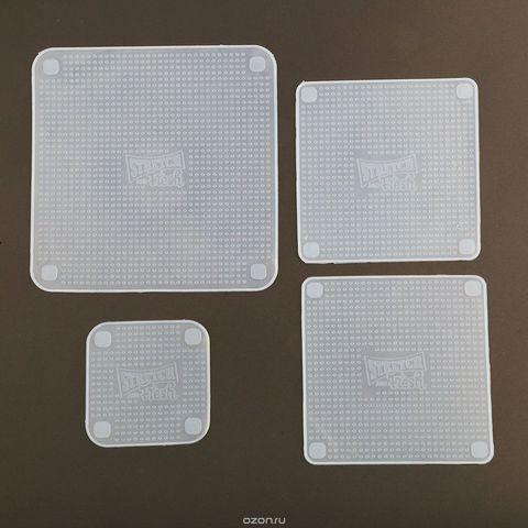 Силиконовые крышки-пленки Stretch and fresh
