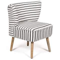 Кресло Secret De Maison BOLZANO — черный/белый