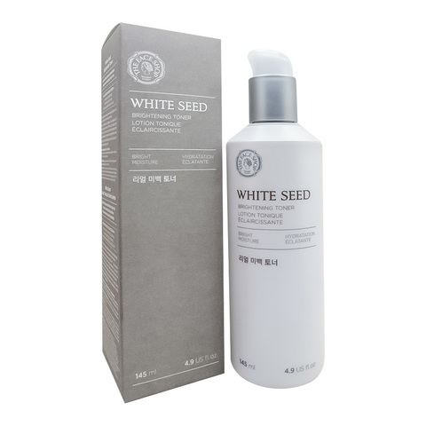 Осветляющий тонер The Face Shop White Seed Real Whitening Toner