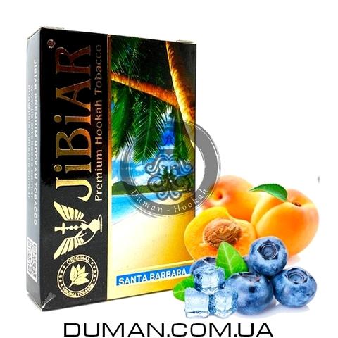 Табак JiBiAR Santa Barbara (Джибиар Санта Барбара - Лед Персик Голубика) 50g