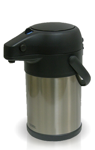 Термос настольный Thermos TAH-3000 SBK (3 литра), серебристый