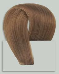 Набор Мега 9 прядей,цвет #12-светлый орех-Вес набора 150 грамм