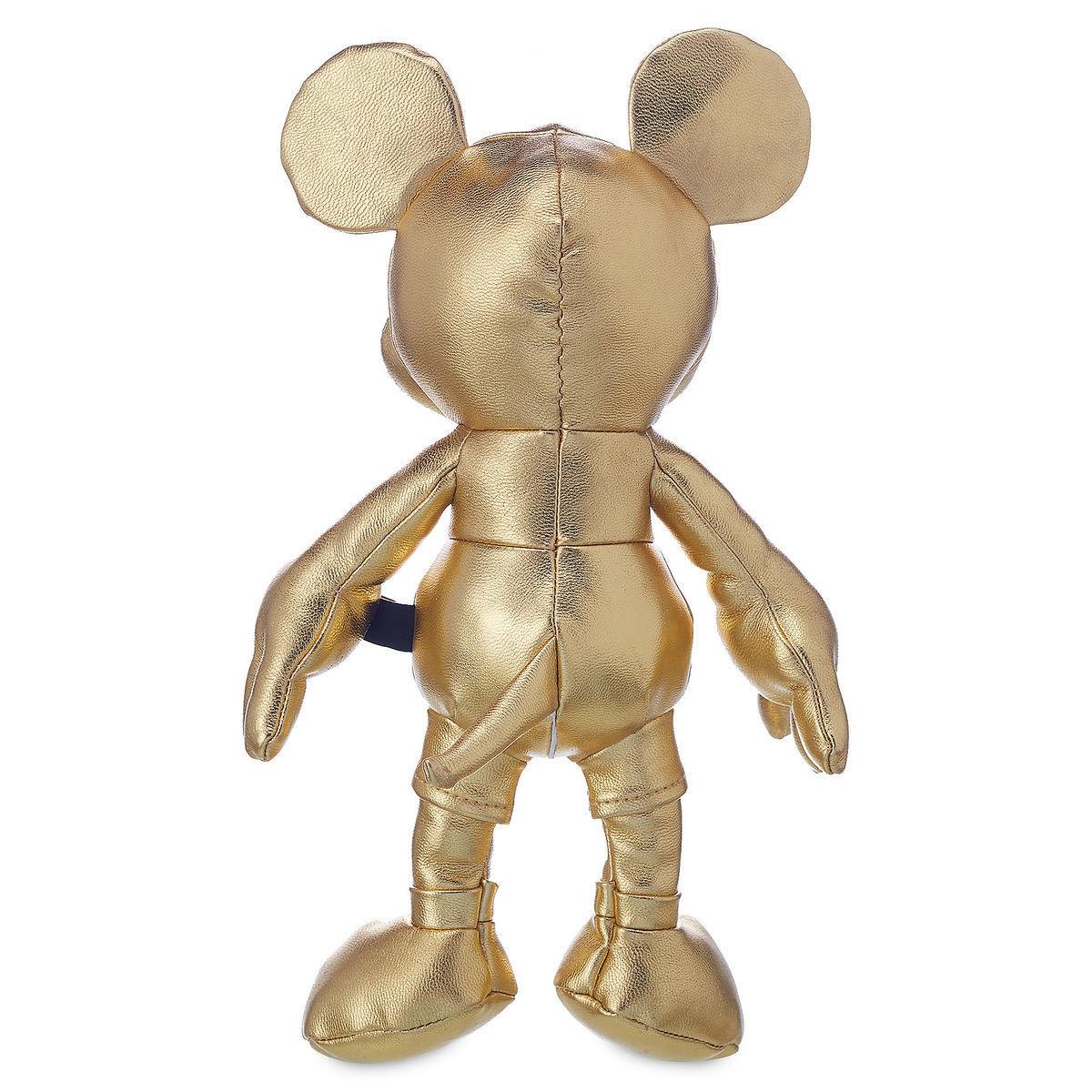 Коллекционная мягкая игрушка Микки Маус - Золотая серия - 27 см