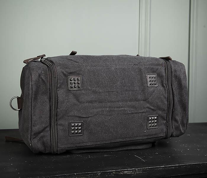 BAG477-1 Большая тканевая сумка с ремнем на плечо фото 07