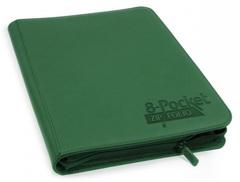 Ultimate Guard - Зеленый гибкий альбом XenoSkin на молнии на 320 карт (4х2)