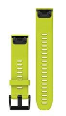 Ремешок силиконовый QuickFit 22 для Garmin Fenix 5 (салатовый) 010-12496-02