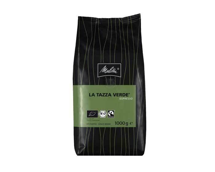 Кофе в зернах Melitta La Tazza Verde Espresso, 1 кг