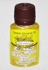 Косметическое масло МИНДАЛЬНОЙ КОСТОЧКИ/ Sweet Almond Oil Refined / рафинированное/ 20 ml