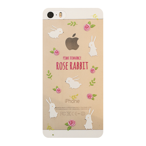 Чехол на Iphone 5/5s Rose Rabbit