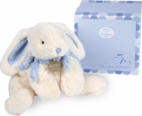 Doudou et Compagnie. Smail  blue rabbit - BONBON