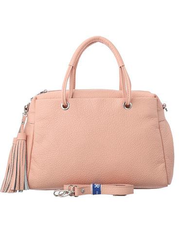 Сумка Deboro розовый/бизон 3358