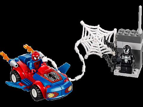 LEGO Juniors: Автомобиль Человека-паука 10665