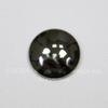 Кабошон круглый Гематит немагнитный глянцевый черный, 14 мм
