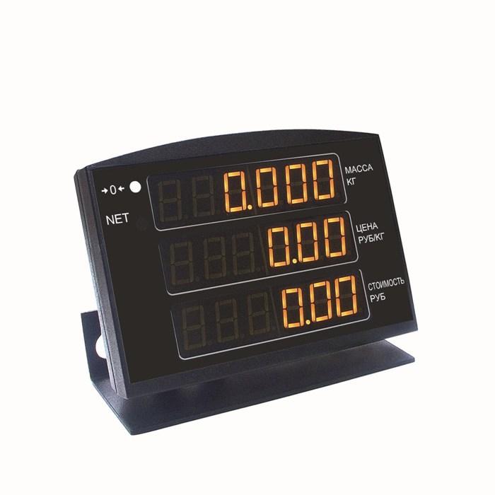 МК-Т21 торговые весы с выносным индикатором 001