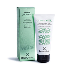 PURE&PERFECT Purifying Mask & Scrub (Dermatime) – Очищающая маска-скраб