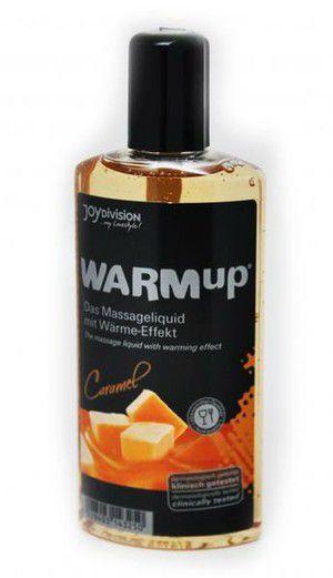 Массажные масла и свечи: Разогревающее масло WARMup Caramel - 150 мл.