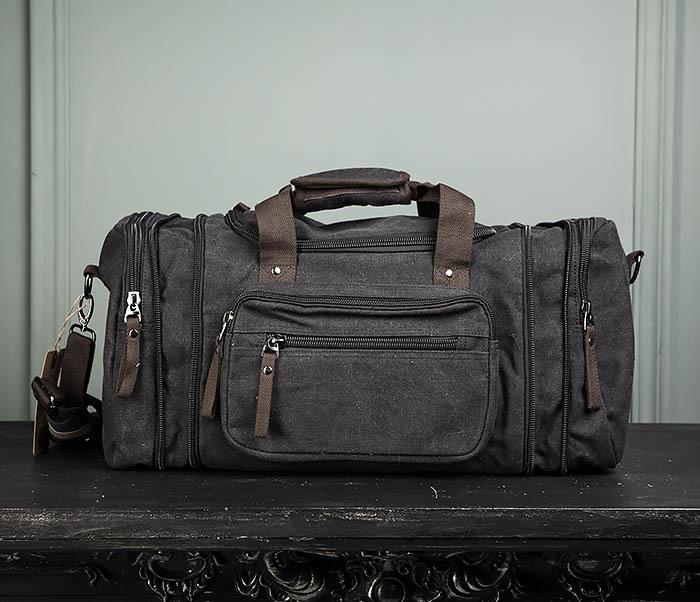 BAG477-1 Большая тканевая сумка с ремнем на плечо фото 10