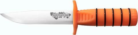 Купить Нож COLD STEEL, SURVIVAL EDGE BLACK, 40777 по доступной цене