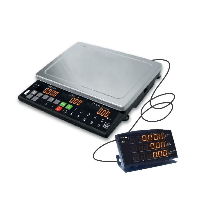 МК-Т21 торговые весы с выносным индикатором 002