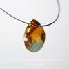 6128 Подвеска Сваровски Капля Crystal Copper (12 мм)