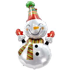 К Веселый снеговик, 39''/99 см, 1 шт.