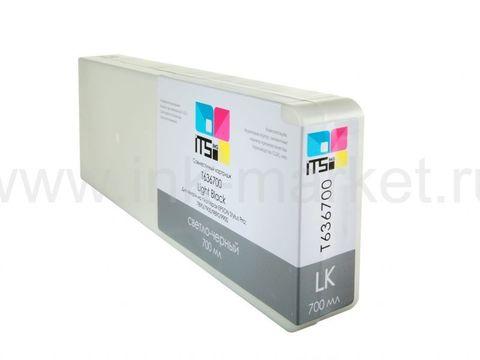Совместимый картридж Optima для Epson Stylus Pro 7700/9700/7890/9890/9900 Light Black 700 ml Pigment (C13T636700)