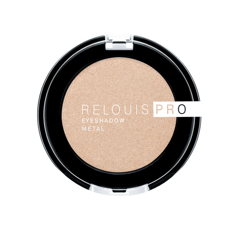 Тени для век Relouis Pro Eyeshadow Metal тон 53 Oh My Gold!