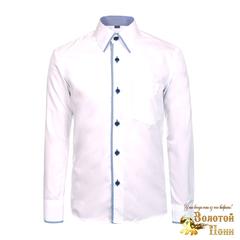Рубашка модал мальчику (116-164) 190219-BS0215