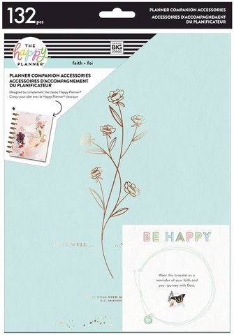 Набор -компаньон для планера Happy Planner Faith Planner Companion - Classic