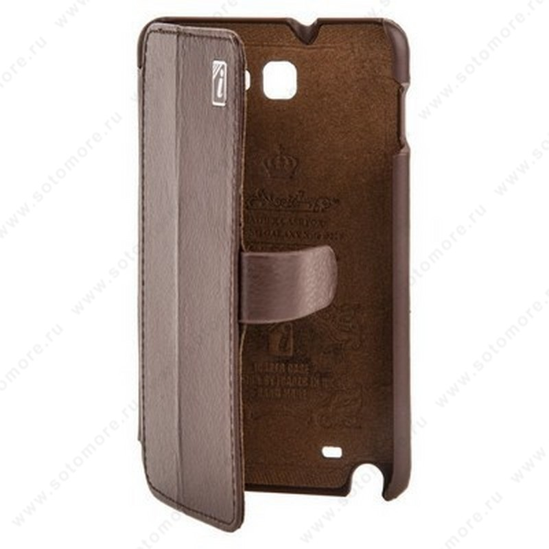 Чехол-книжка iCarer для Samsung Galaxy Note N7000 коричневый